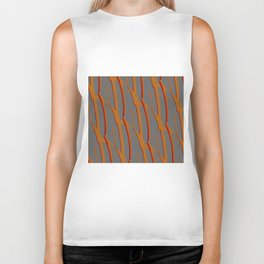 Orange Ladder Biker Tank