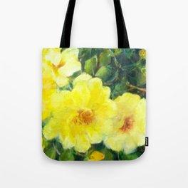 July Yellow Roses Tote Bag