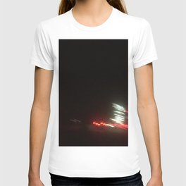 Abstracte Light Art in the Dark 12 T-shirt