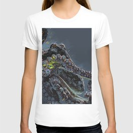 """Release the Kraken"" - Giant Octopus Digital Illustration T-shirt"