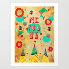 Just You  Art Print