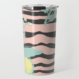 Citric zebra Travel Mug