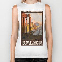 Vintage poster - Rome Biker Tank