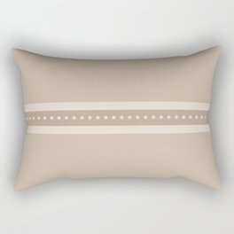Ribbon 9 Sand Rectangular Pillow