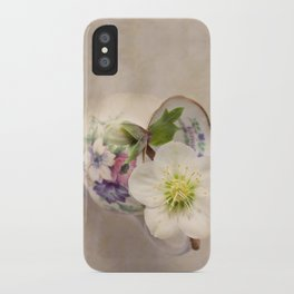 January Flower iPhone Case