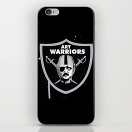 Art Raiders iPhone Skin