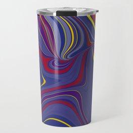 CRAY - vivid rich jewel primary color block design Travel Mug