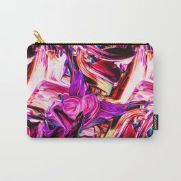 Colorful Abstract Liquid Paint IV Carry-All Pouch