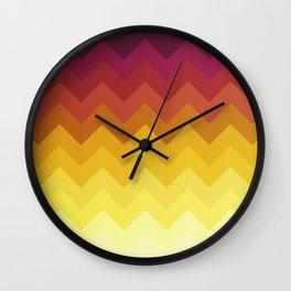 Shades of Wine Wall Clock