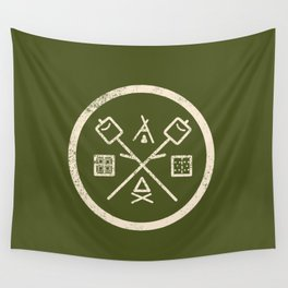 S'mores Society Wall Tapestry