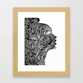 Emerging Face Framed Art Print
