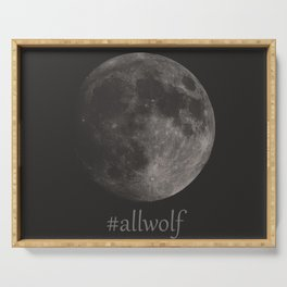 All Wolf Serving Tray