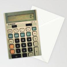 Calculator Stationery Cards