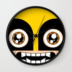Adorable Wolverine Wall Clock