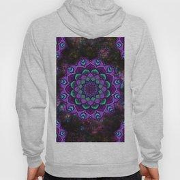 beauty mandala in purple Hoody