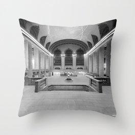 Main Concourse, Grand Central Terminal, New York Throw Pillow