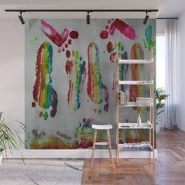 FOOTSTEPS DUVET COVER DESIGN Wall Mural