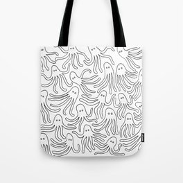 A Party of Handicapped Octopi II Tote Bag