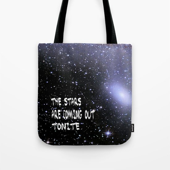 the stars are coming out tonite  U.S. Tote Bag