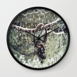 We all feel lost sometimes Wall Clock