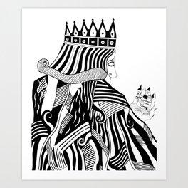 The Fallen Kingdom Art Print
