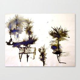 Dean Clough Two Canvas Print