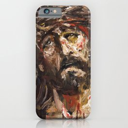 Portrait of The Passion iPhone Case