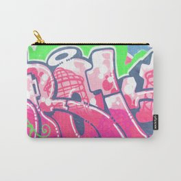 Neon Graffiti Carry-All Pouch
