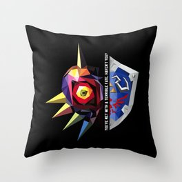 The Final Day Throw Pillow