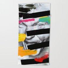 Composition 470 Beach Towel