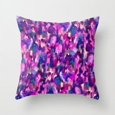 Verve (Purple) Throw Pillow