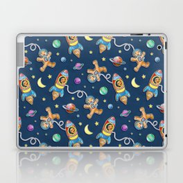 Gingerbread Astronauts Laptop & iPad Skin