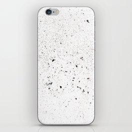 white space iPhone Skin