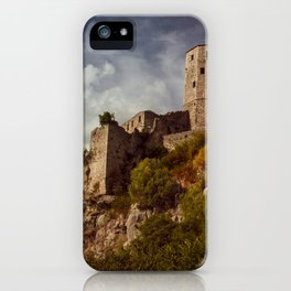 An old abandoned castle iPhone Case