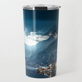 hallstatt in austria Travel Mug