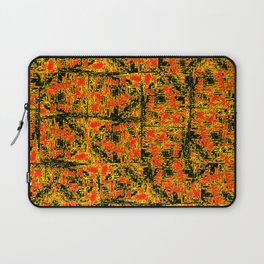 Golden Red Laptop Sleeve