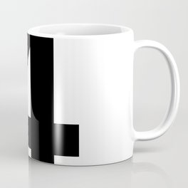 Number 4 (Black & White) Coffee Mug