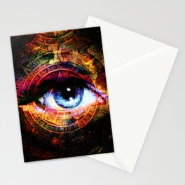 Mistical eye Stationery Cards