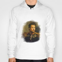 replaceface Hoodies featuring Robert Downey Jr. - replaceface by replaceface