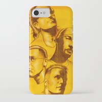 u2 iPhone & iPod Cases featuring U2 - Série Ouro by Renato Cunha