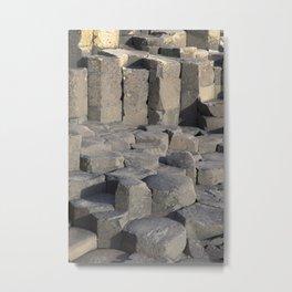 Giants Causeway; County Antrim; Northern Ireland, UK Metal Print