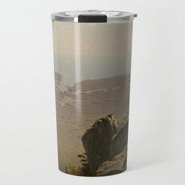 The Artist Sketching at Mount Desert, Maine Travel Mug