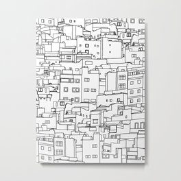 1001 Houses Metal Print