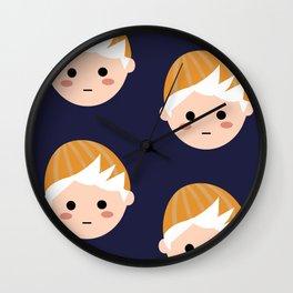 Cole Blue Wall Clock
