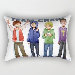 Team Craig Rectangular Pillow