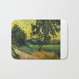 Vincent Van Gogh : Landscape at Twilight Bath Mat