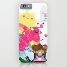 Cotton Candy can save the world!!! iPhone 6s Slim Case