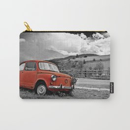 Old Car on the Countryside Carry-All Pouch