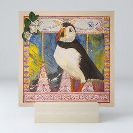 Innu Munaikutan ( Arctic Puffin ) Mini Art Print