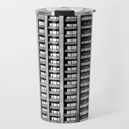 Barbican - Brutalist building illustration Travel Mug